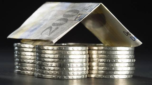 Im ersten Quartal 2012 kaum gesunken: Hypothekar-Zinsen (Symbolbild)