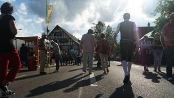 Weiningen wird wieder zur Festhütte mit Partymeile: Während drei Tagen steigt das Rebblüetefäscht.