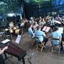 Die Jugendmusik Härkingen-Neuendorf eröffnete in der Schützi das Blasmusikfestival. BRUNO KISSLING