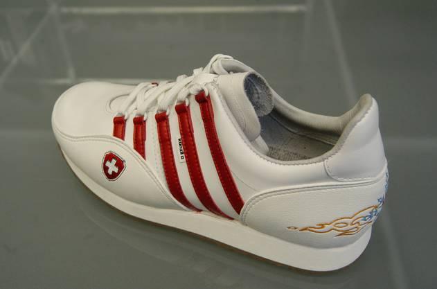 Diese fünf Streifen des Olympia-Schuhs sind bald Geschichte.
