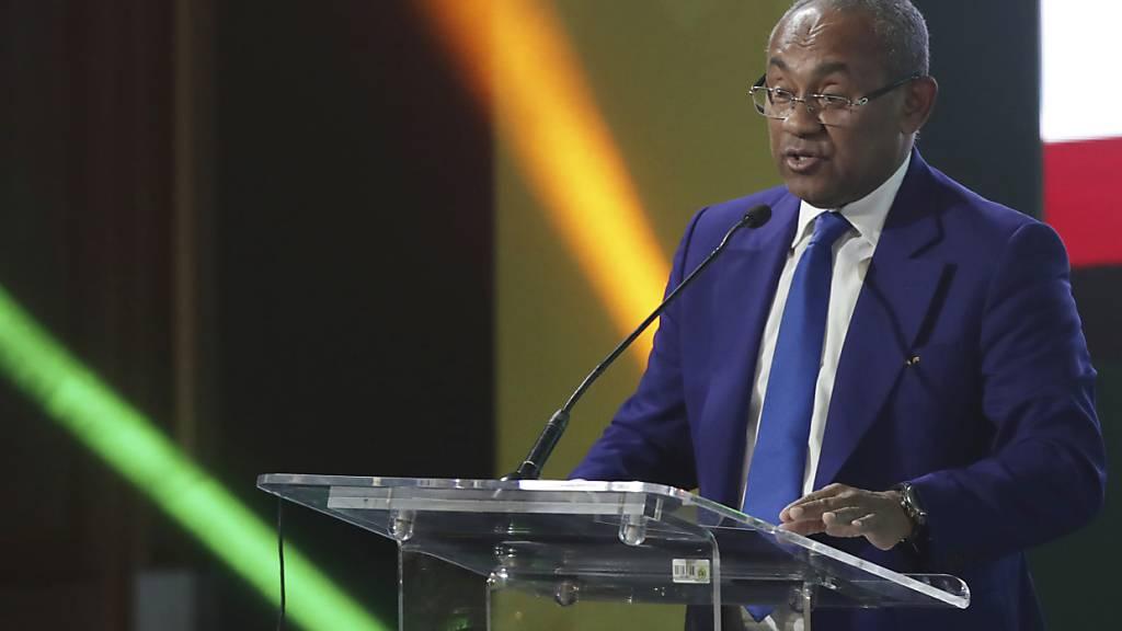 Präsident des afrikanischen Fussballverbands gesperrt