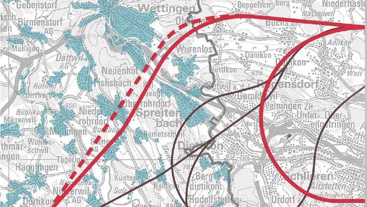 Flugrouten Karte.Neue Routenfuhrungen Am Flughafen Zurich Es Droht Massiv
