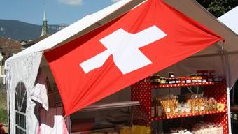 94 Prozent der Schweizer sind stolz oder sehr stolz darauf, Schweizer zu sein, sagt das Sorgenbarometer der Credit Suisse.