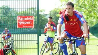 Der neue FC Basel hat zum ersten Mal trainiert