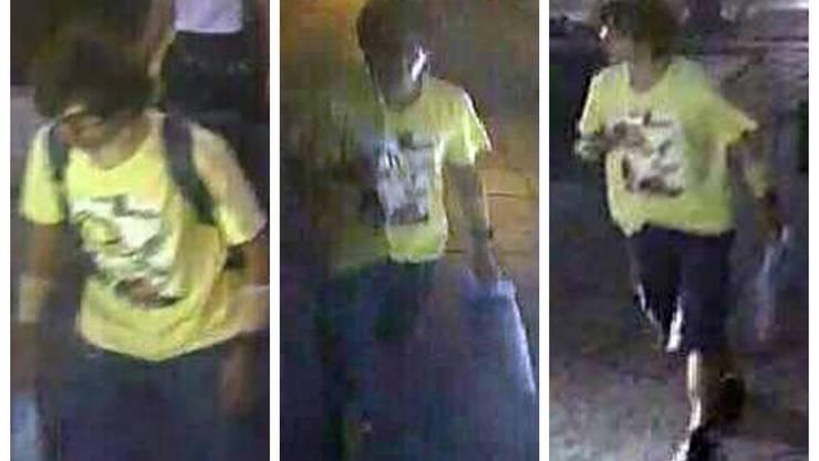 Eine Überwachungskamera filmte diesen Verdächtigen. Wiele viele Kameras defekt sind, gibt es kaum weitere brauchbare Aufnahmen.