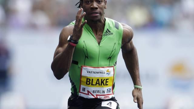 Yohan Blake auch in Berlin der Schnellste