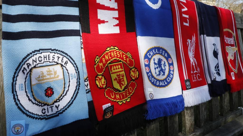 European Super League Clubs Schals