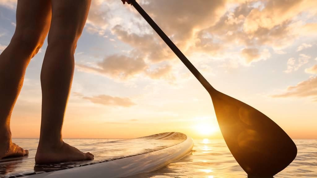 Schweizer verliert Paddle - Grosseinsatz