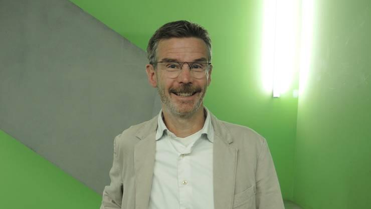 Thomas Gröbly ist Dozent für Ethik und Nachhaltigkeit und organisiert seit 2013 – als treibende Kraft – die Veranstaltungsreihe Campuscinema im «Odeon» Brugg.