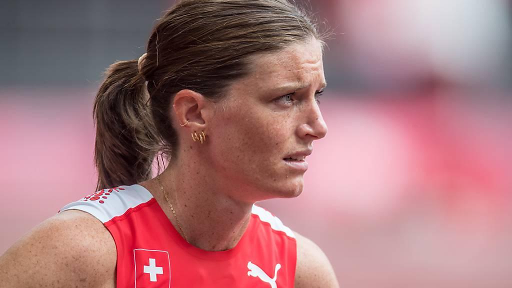 Bei schwierigen Bedingungen kein Exploit möglich: Hürdenläuferin Lea Sprunger