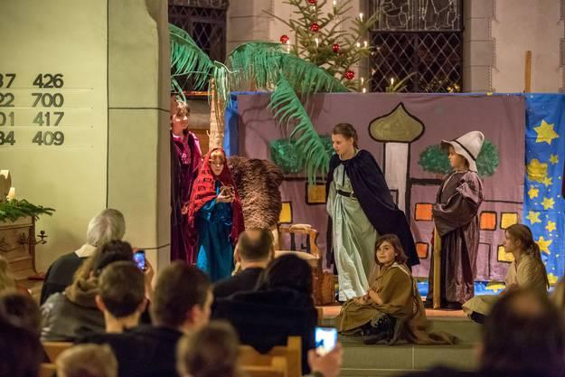 Dramatische Szenen spielen sich ab im alten Bethlehem