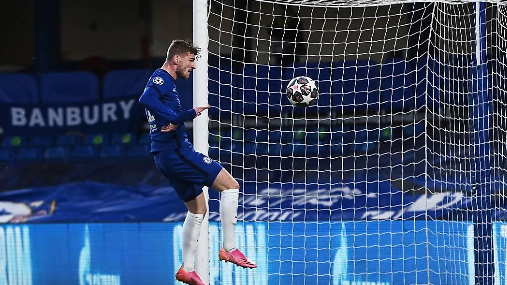 Timo Werner brachte Chelsea in der 28. Minute in Führung