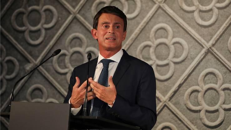 Will nun in Barcelona Polit-Karriere machen: Manuel Valls.Emilio Morenatti/Key