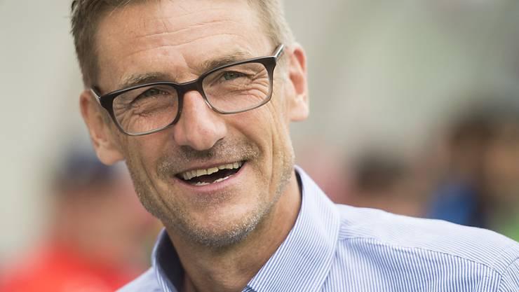 Ex-FCZ-Trainer Urs Meier hat gut lachen: Er übernimmt Rapperswil-Jona als Challenge-League-Klub