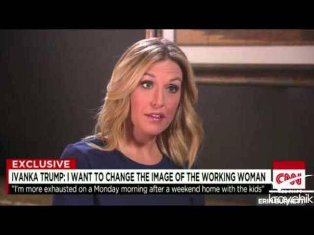 Ivanka Trump spricht im Interview mit CNN über ihren Vater
