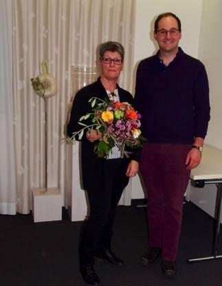 Dr. med. Fischer mit Maja Sandmeier