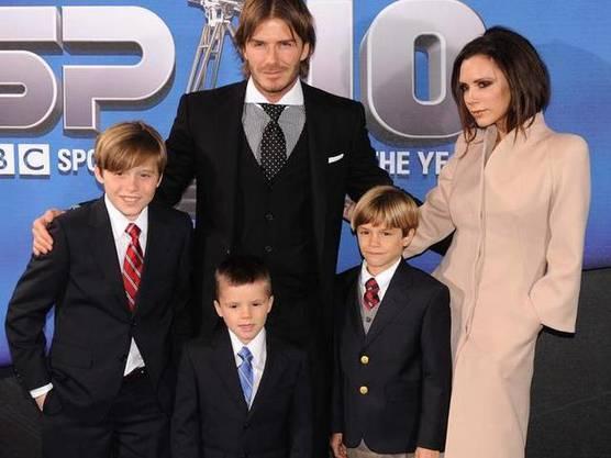Die beiden haben zu den drei Söhnen nun auch eine Tochter.