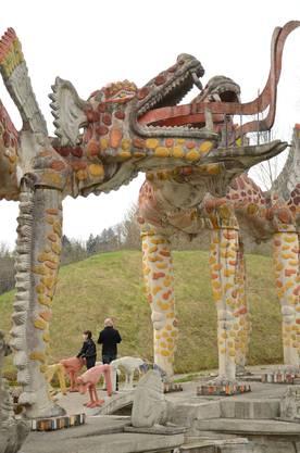 Auf dem weitläufigen Gelände verteilten sich die Besucher trotz des hohen Andrangs gut.