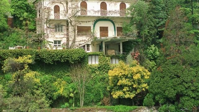 Die Villa Monte Tabor Erich Maria Remarques im Tessiner Ort Ronco Sopra Ascona (Archiv)