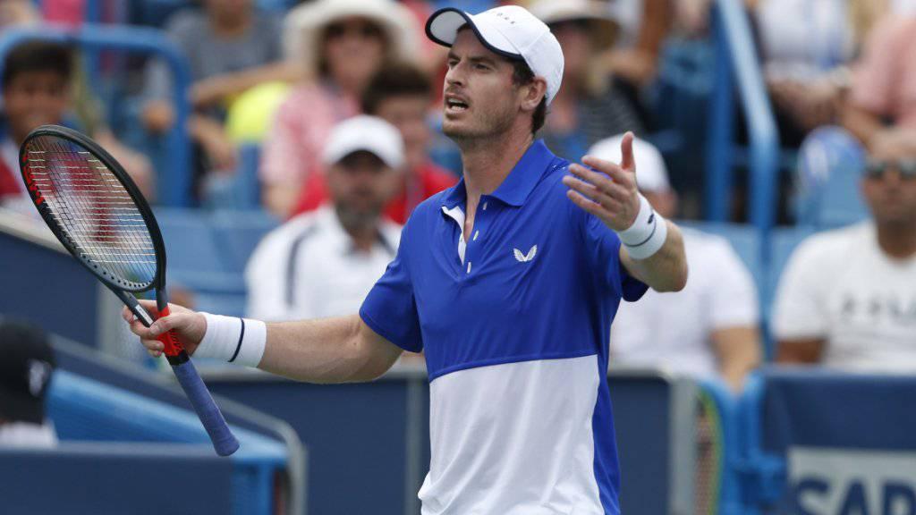 Andy Murray verzichtet auf einen Einzel-Start am US Open
