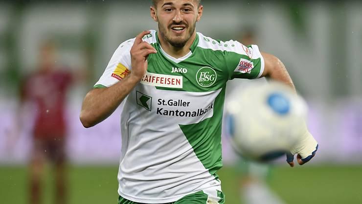 Albian Ajeti stürmt weiterhin für St. Gallen