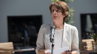 """Stadtpräsidentin Jolanda Urech: """"Der Stadtrat hat sich beim Steuerfuss eingemittet."""""""