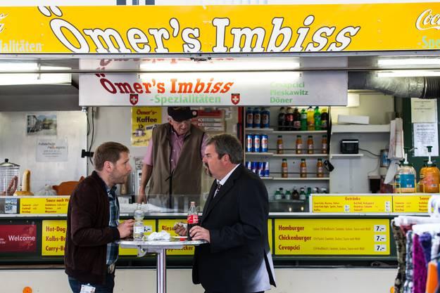 Der Aarauer Kultimbiss «Ömer's».