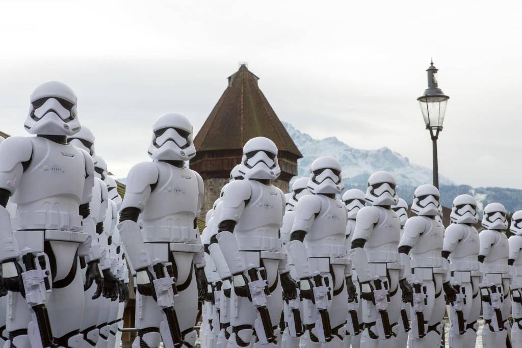 Star Wars Stormtroopers in Luzern (© Nimex AG)