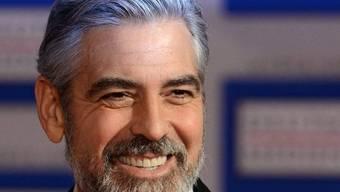 George Clooney lässt sich trotz Schnuppen die Laune nicht verderben (Archiv)