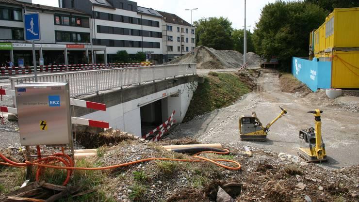 Die Unterführung in Schlierens Zentrum, die im Volksmund Mausoleum genannt wird, wird aufgehoben.
