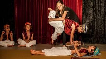 Zirkus-Theaterwoche im Regionalen Pflegenzentrum Baden