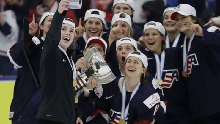 Die US-Frauen gewannen zum achten Mal den WM-Titel
