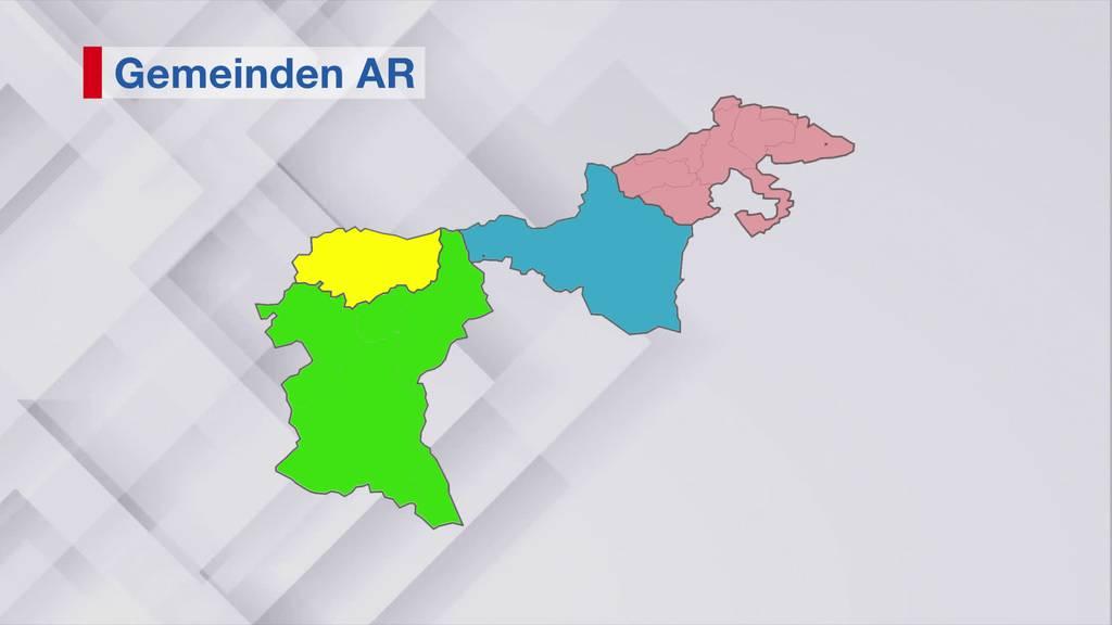 Ausserrhoder Regierung will Kanton in vier Bezirke teilen