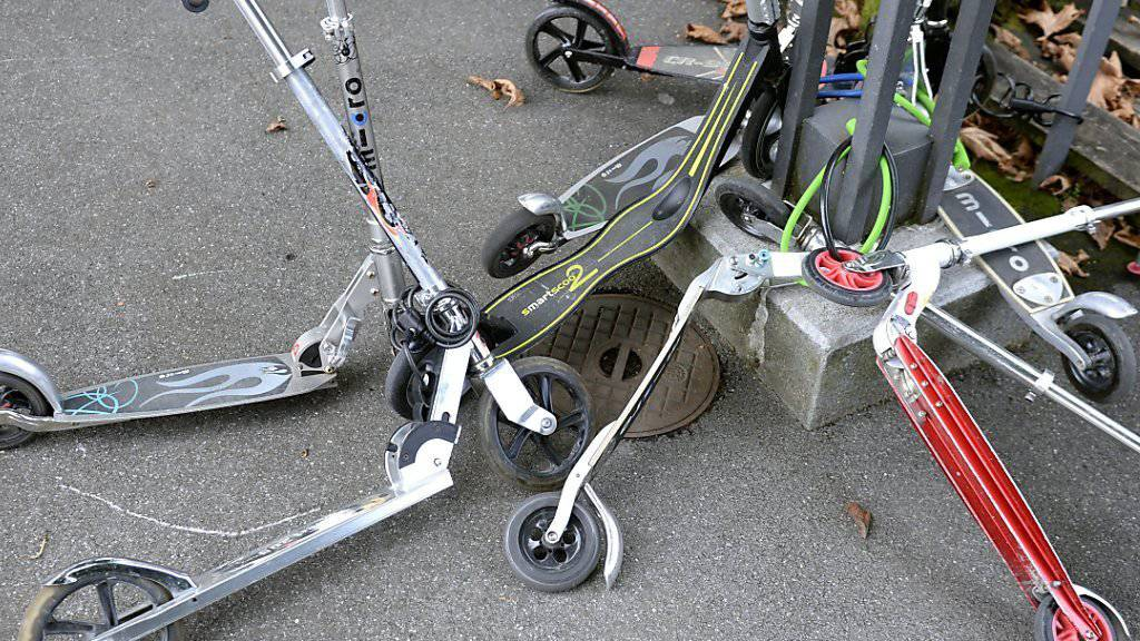 Können auch als Fluchtfahrzeuge dienen: Trottinette. (Archivbild)