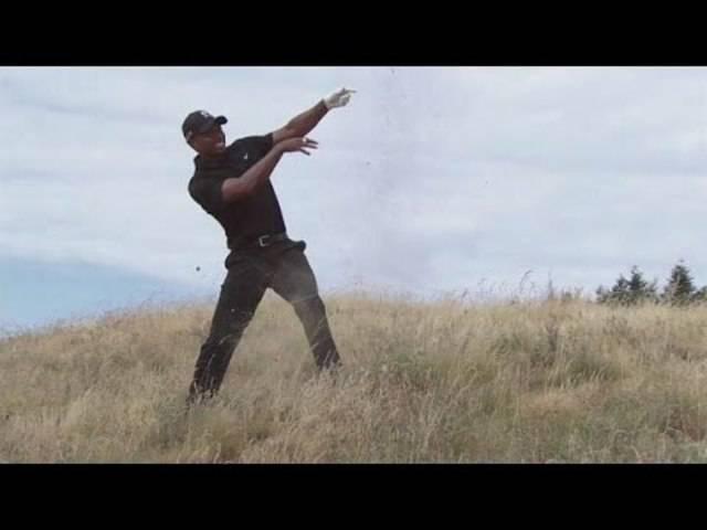 Tiger Woods ist an den US Open völlig von der Rolle.