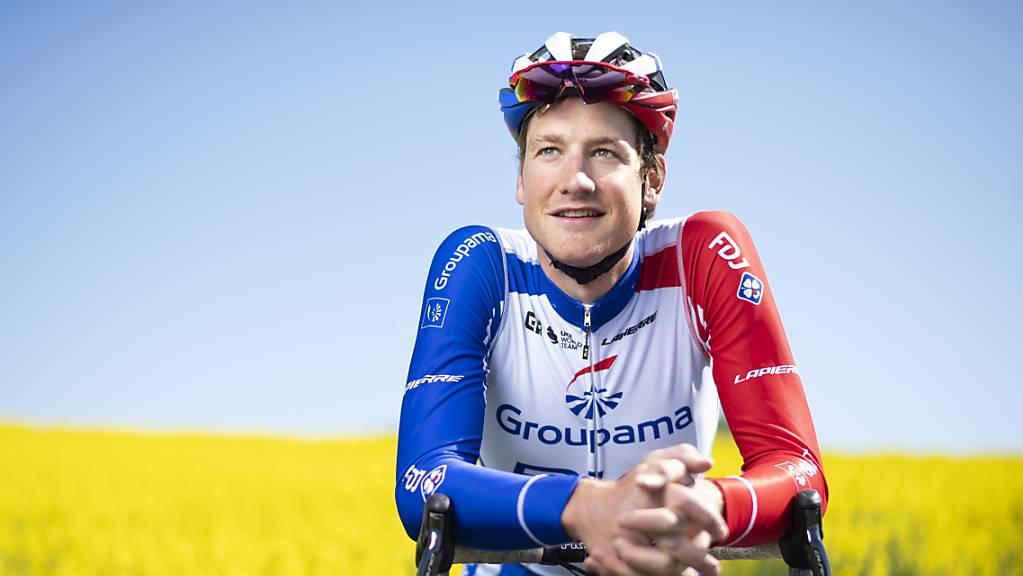 Stefan Küng feiert zum ersten Mal in seiner Karriere einen Sieg an einer Rundfahrt