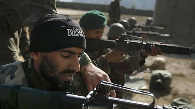 Ausbildung afghanischer Soldaten durch US-Armee