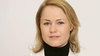 Hat einen deutschen Chef: Natalie Rickli.