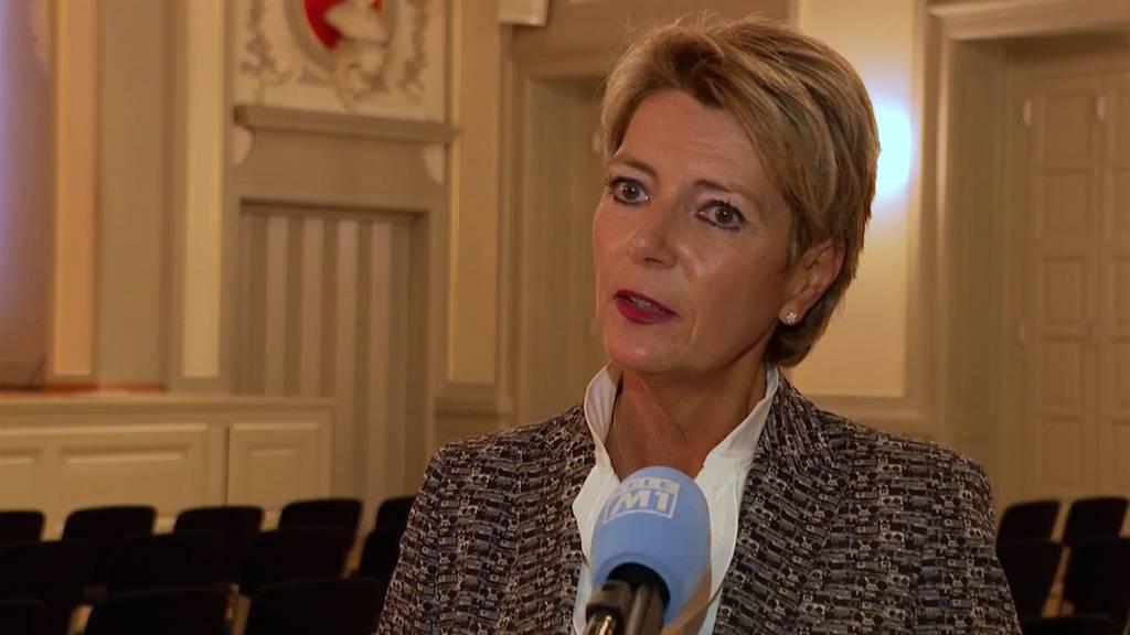 Klare Absage an Konzernverantwortungsinitiative von Keller-Sutter: «Mit Herz und Verstand ein Nein»