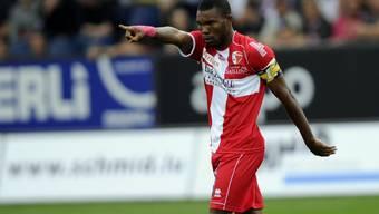 Geoffroy Serey Die spielte bereits von 2008 bis 2013 beim FC Sion und gewann mit den Wallisern zweimal den Cup