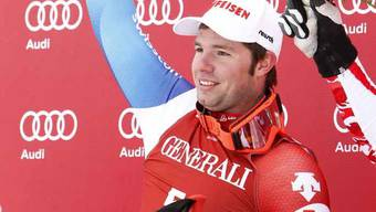 Beat Feuz freut sich «unglaublich» über seinen ersten Weltcup-Sieg
