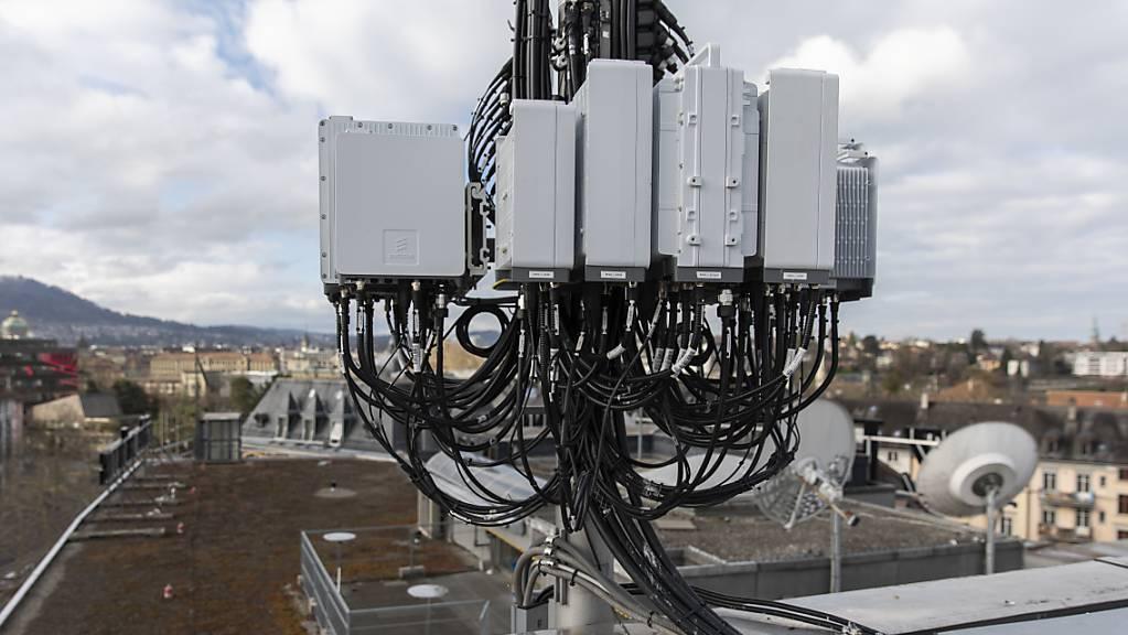 5G-Ausbau treibt Netzwerkausrüster Ericsson an. (Archiv)