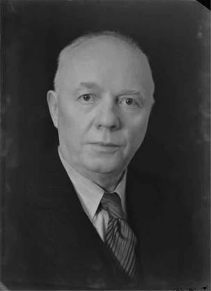 Der Laufenburger Hans Fricker, CVP, war von 1925 bis 1933 National- und von 1933 bis 1955 Ständerat.Staatsarchiv