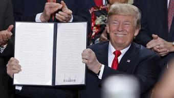 Trump verkleinert Naturschutzgebiete