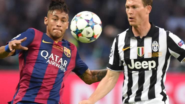Stephan Lichsteiner duellierte sich immer wieder mit Neymar