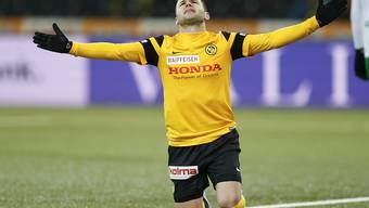 Trauert einer der zahlreichen vergebenen Chancen der Young Boys nach: Renato Steffen