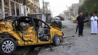 Blutiges Wochenende: Autobomben-Anschlag in Bagdad