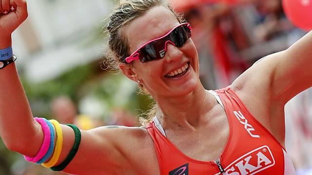 Caroline Steffen mit Rekordzeit zum Sieg.