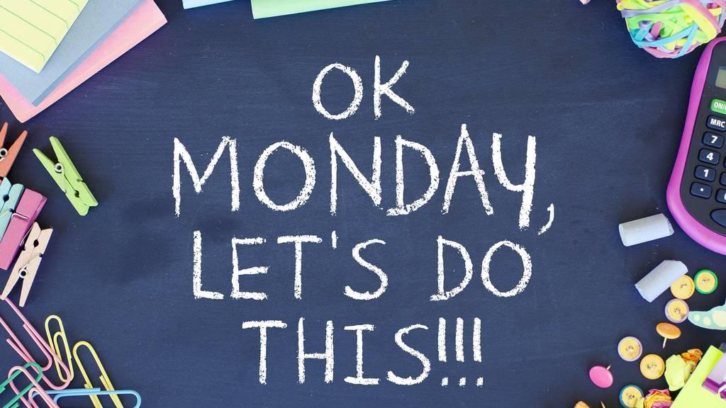 Der Montag ist eigentlich immer schlecht. Eigentlich...