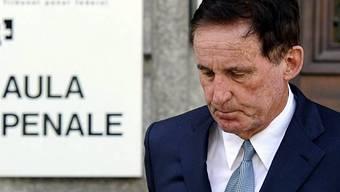 Holenweger verlässt das Bundesstrafgericht in Bellinzona